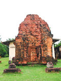 The ancient khmer laterite shrine in Sakon Nakorn, Thailand. Stock Images