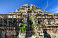 Ancient khmer pyramid in Koh Ker Stock Images