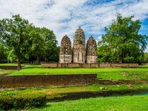 An ancient Khmer Style Prang at Wat Sri Sawai Royalty Free Stock Images