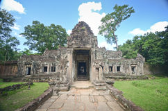 Ancient Khmer temple in Angkor Wat ,Cambodia Stock Photos