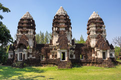 Ancient khmer temple Royalty Free Stock Photos