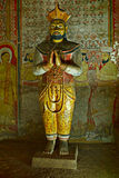 Ancient king image in Dambulla Rock Stock Photo