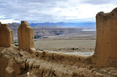 Ancient kingdom site in tibet Stock Photos