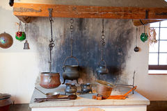 Ancient kitchen Stock Photos