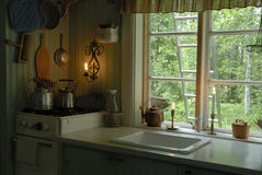 Ancient kitchen Stock Images