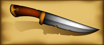 Ancient knife Stock Image