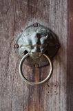 The ancient knock door Stock Photography