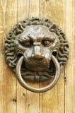 Ancient knocker royalty free stock photography