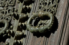 An ancient knocker Stock Image