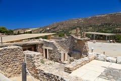 Ancient Knossos Palace Stock Photos