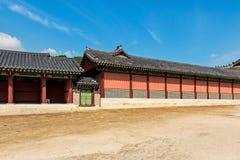 Ancient Korean building Stock Images