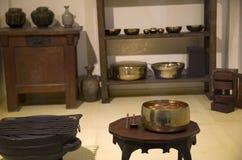 Ancient Korean housewares Stock Image