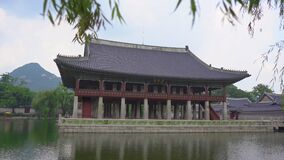 Ancient Korean palace in Seoul