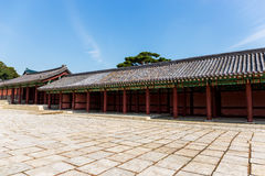 Ancient korean traditional architecture Stock Photography