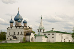 Ancient kremlin in the Suzdal town Royalty Free Stock Image