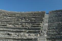 Ancient Kusadasi stadium Stock Photos