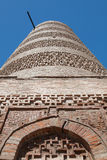 Ancient Kyrgyz Burana tower Royalty Free Stock Image