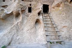 The ancient ladder Stock Photography