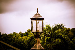 Ancient lamp vintage Royalty Free Stock Photo