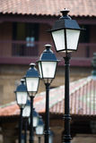Ancient lampposts Royalty Free Stock Photo