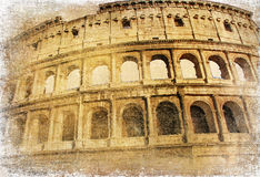Ancient landmarks - Colosseum Stock Images