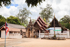 Ancient lanna style temple Royalty Free Stock Image