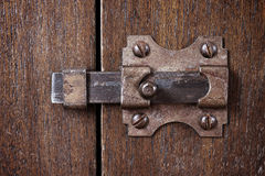 Ancient latch Stock Image