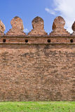 Ancient laterite wall Stock Image