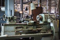 Ancient lathe machine Royalty Free Stock Photo