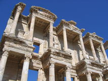 Ancient Library - Ephesus Royalty Free Stock Photos