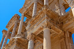 Ancient library in Ephesus. ? Izmir, Turkey royalty free stock photography