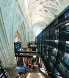 Ancient Library Interior Royalty Free Stock Photography