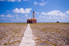 Ancient lighthouse ruin Royalty Free Stock Images
