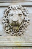 Ancient lion relief Stock Images