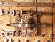 Ancient lock Royalty Free Stock Photo