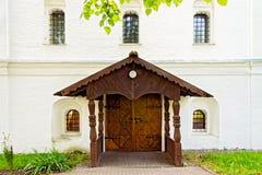 Ancient locked door Stock Image