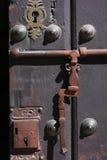 Ancient locks in Potosi Stock Photo