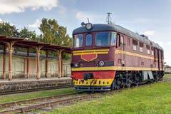 Ancient locomotive Stock Photo