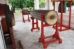Ancient long drum Stock Image