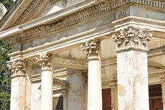Ancient looking column Royalty Free Stock Image