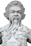 Ancient lord stone statue Stock Images