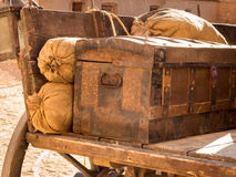 Ancient luggage Stock Photos