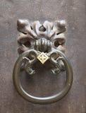 Ancient Luxury Door Knocker Stock Images