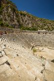 Ancient lycian Myra ruins at Turkey Demre Royalty Free Stock Photos