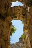 Ancient lycian Myra ruins at Turkey Demre Stock Photo