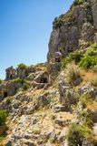 Ancient lycian Myra ruins at Turkey Demre Stock Photography