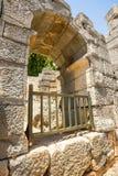Ancient lycian Myra ruins at Turkey Demre Royalty Free Stock Photography