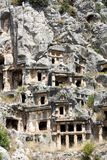 Ancient Lycian tombs in Myra Royalty Free Stock Image