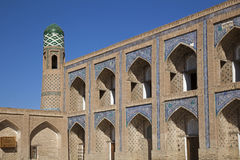 Ancient madrassa in uzbekistan Stock Image
