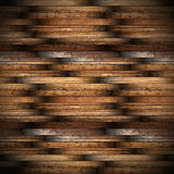 Ancient mahogany wood floor design Stock Photography